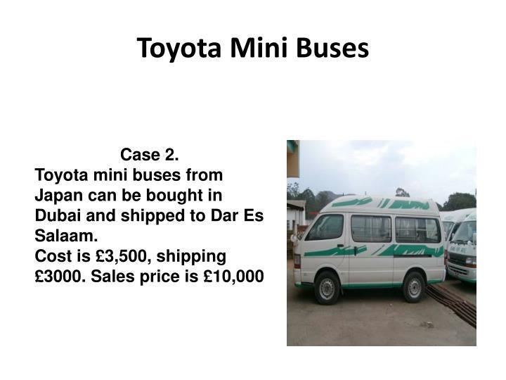 Toyota Mini Buses