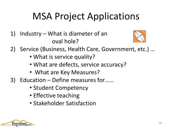 MSA Project Applications