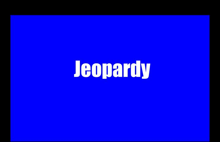 Ppt jeopardy powerpoint presentation id5504351 jeopardy game rules urtaz Images