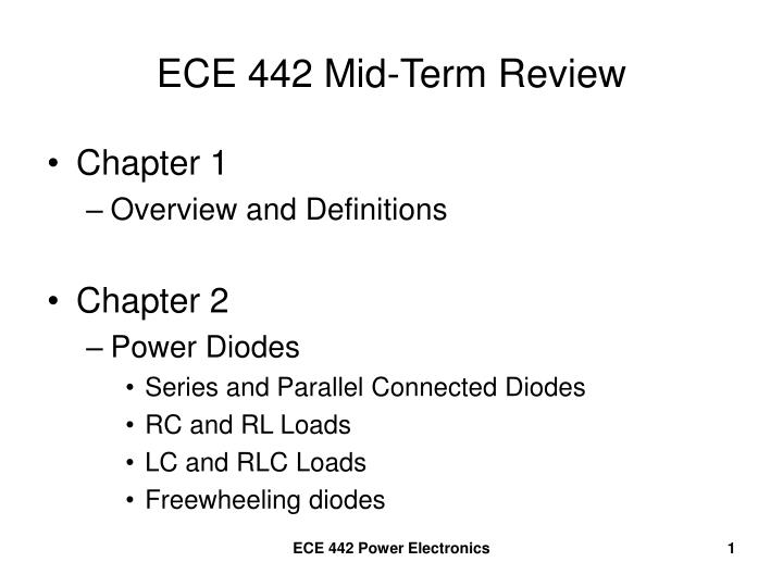 ece 442 mid term review n.