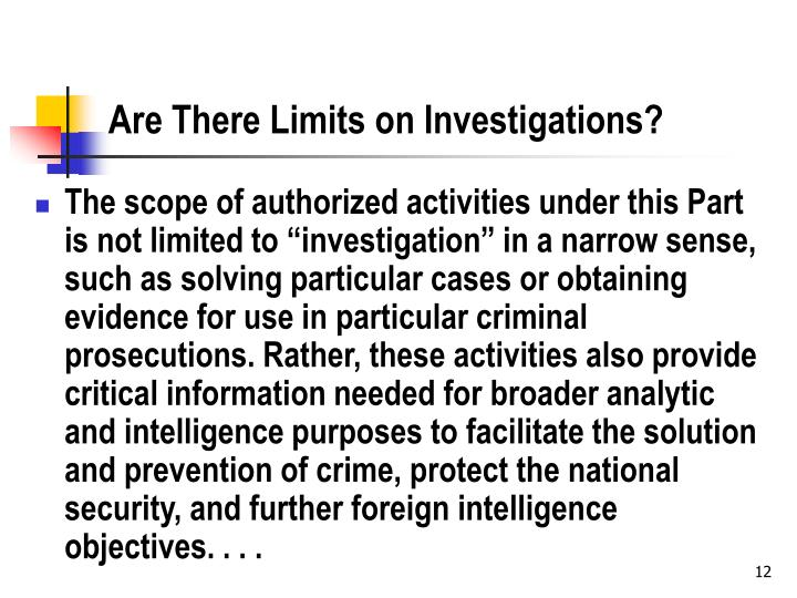 scope and limitations about investigatory projects