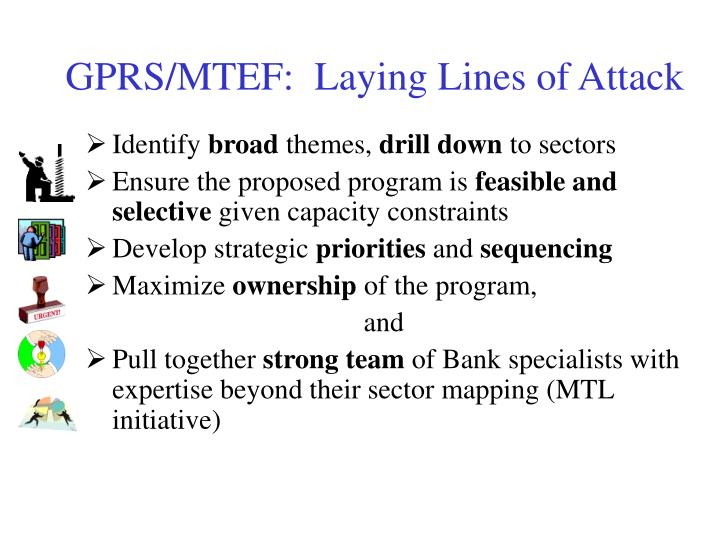 GPRS/MTEF:  Laying Lines of Attack
