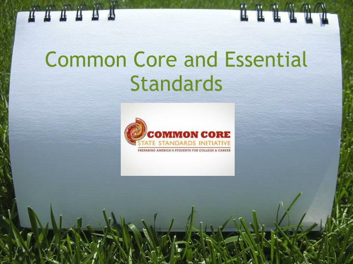common core and essential standards n.