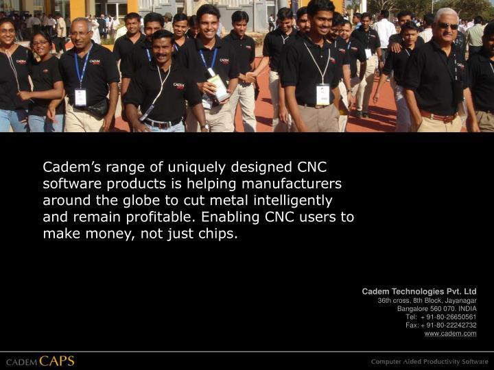 Cadem Technologies Pvt. Ltd