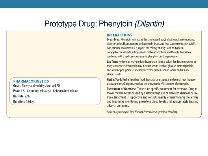 Prototype Drug: Phenytoin