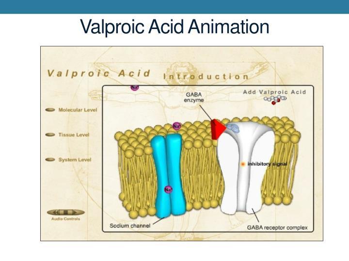 Valproic Acid Animation