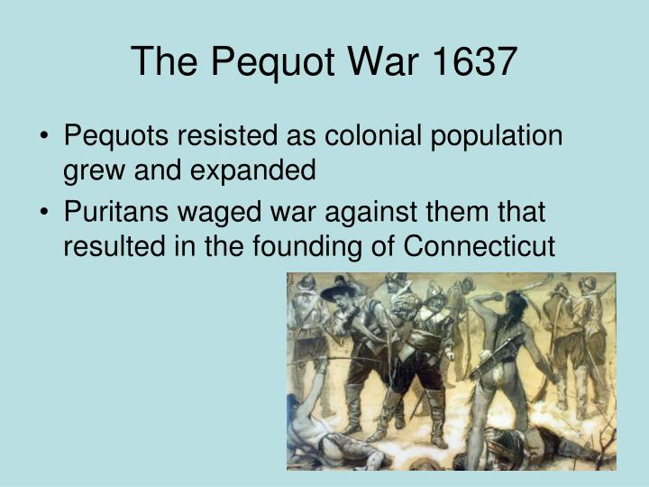 the pequot essay View essay - pequot war essay from hist 21510201 at rutgers university, newark and settlers alike would con³ict with each other due to preset deals regarding trades.