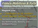 france mobilizes falls