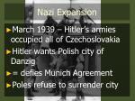 nazi expansion