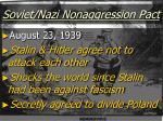 soviet nazi nonaggression pact