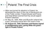 poland the final crisis