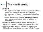 the nazi blitzkrieg