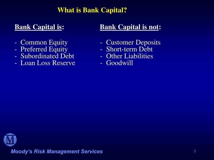 What is Bank Capital?