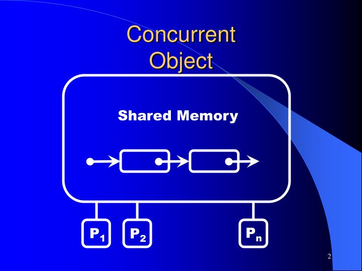 Concurrent object