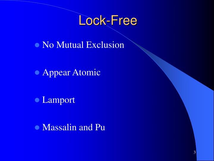 Lock free
