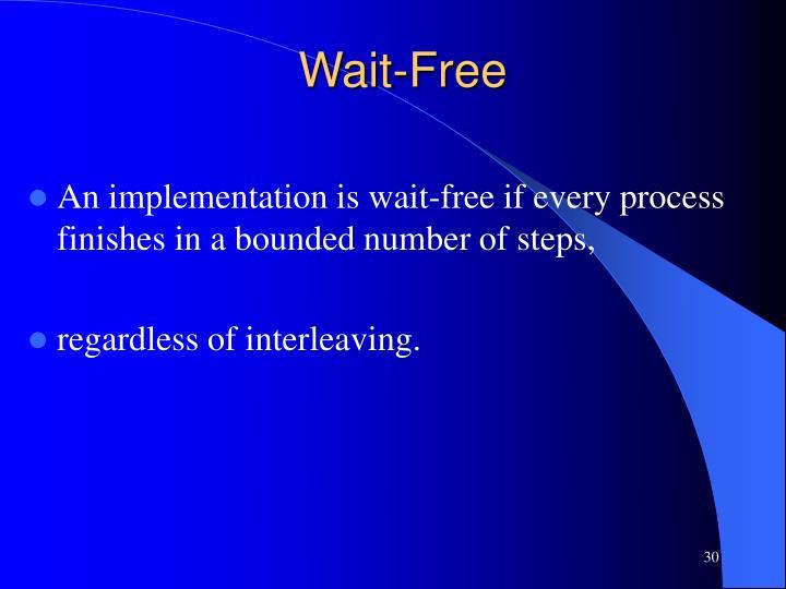 Wait-Free