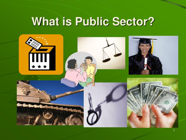 What is public sector