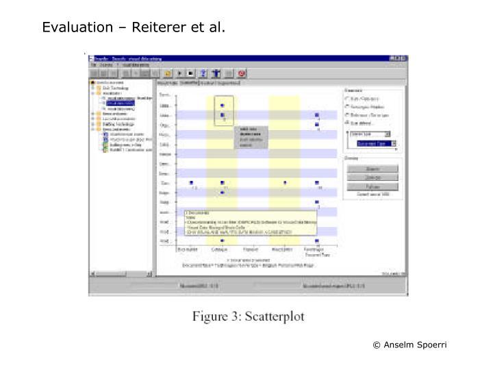 Evaluation – Reiterer et al.