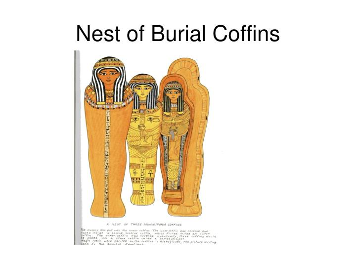 Nest of Burial Coffins