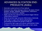 advanced glycation end products ages