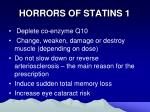 horrors of statins 1