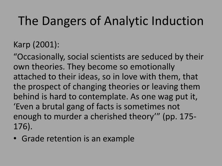 The Dangers of Analytic