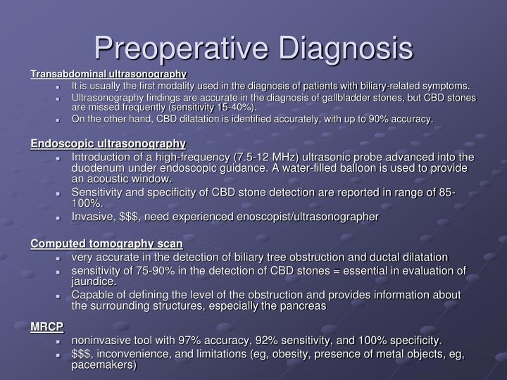 Preoperative Diagnosis