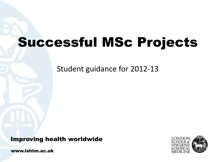 successful msc projects n.