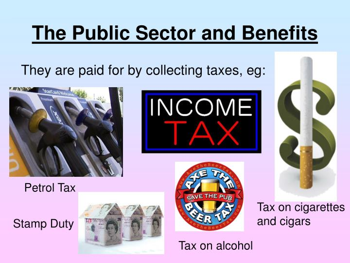 The Public Sector and Benefits