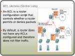 acl access control lists1