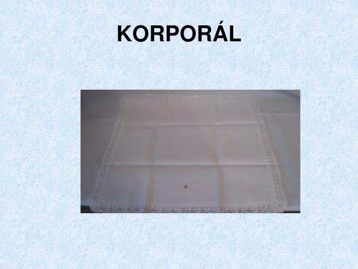 KORPORÁL