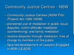 community justice centres nsw