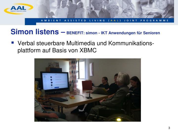 Simon listens benefit simon ikt anwendungen f r senioren