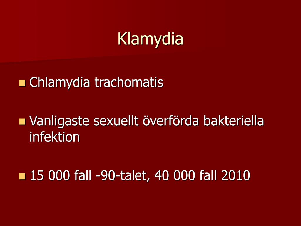 sexuellt överförbara sjukdomar från analsex