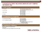 classificacao tnm do melanoma americam joint commitee on cancer 2002