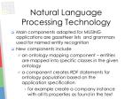 natural language processing technology