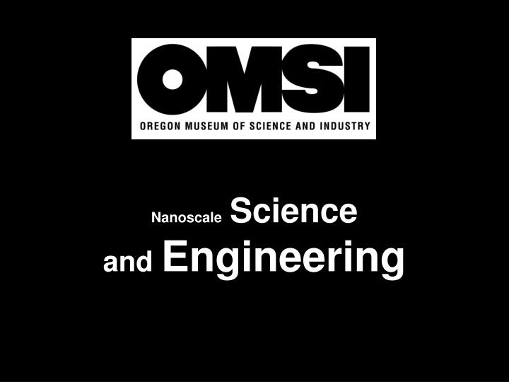 nanoscale science and engineering n.