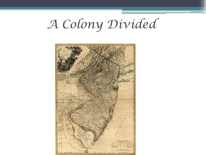 a colony divided n.