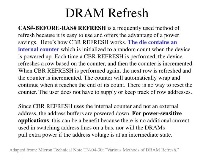 DRAM Refresh