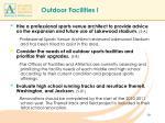 outdoor facilities l