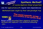 synthesis method