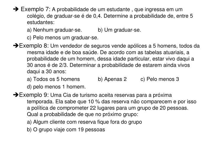  Exemplo 7:
