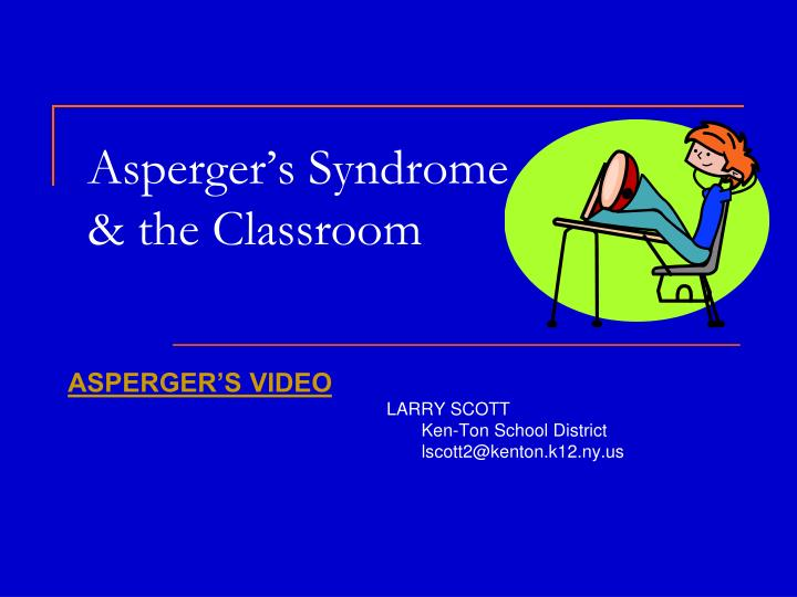 an analysis of the asperger syndrome as a neurological disorder Despite having years of scientific analysis on autism and its connected condition asperger's syndrome sorts of autism spectrum disorders still stay somewhat of a mystery disorder.