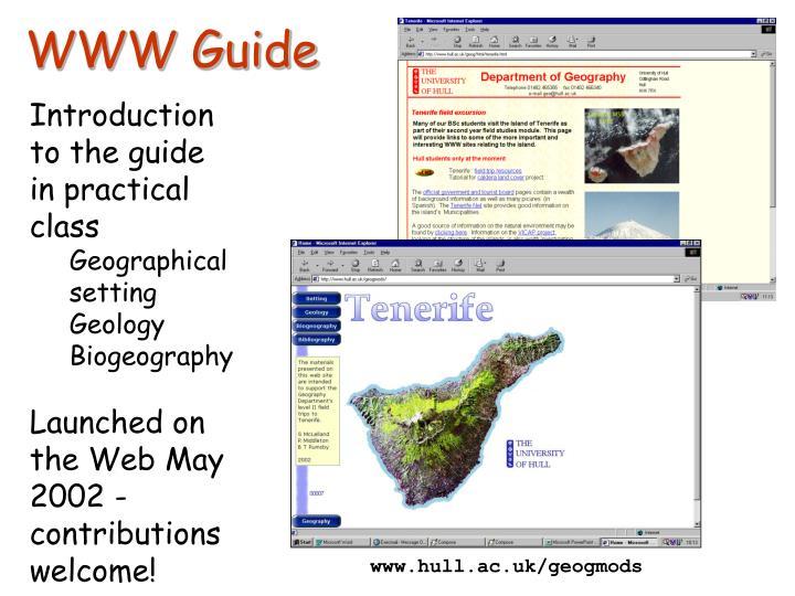 WWW Guide