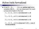 active trails formalized