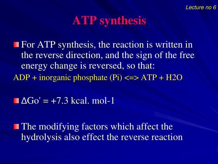 Lecture no 6