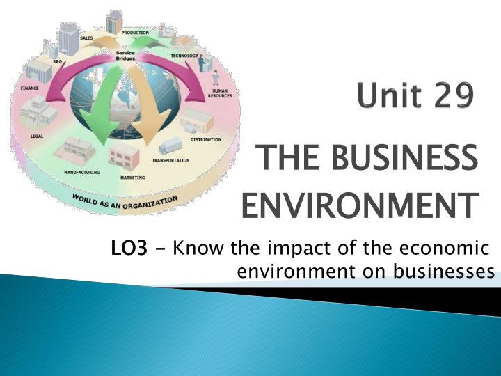 business environment p5 Business environment means a collection of all individuals, entities and other factors, which may or may not be under the control of the organisation, but can affect its performance, profitability.