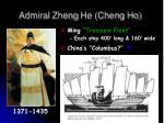 admiral zheng he cheng ho