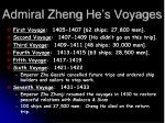 admiral zheng he s voyages