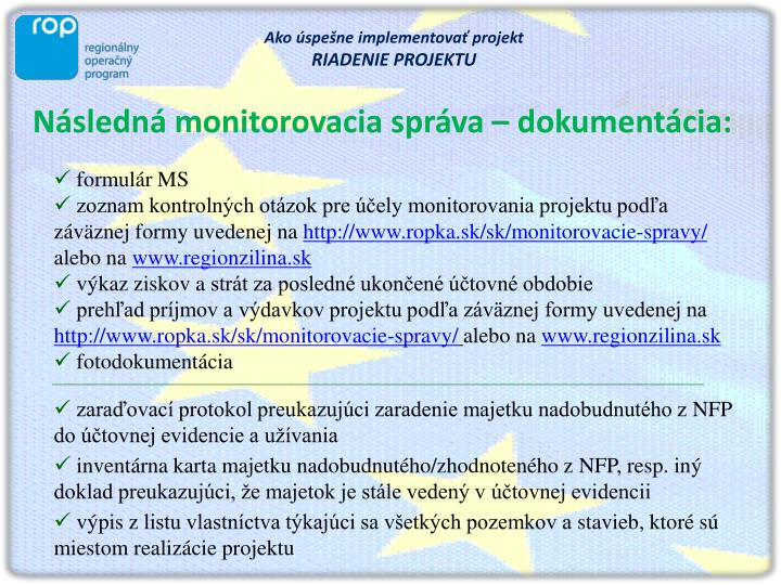 Ppt Ako Uspesne Implementovat Projekt Powerpoint Presentation Id